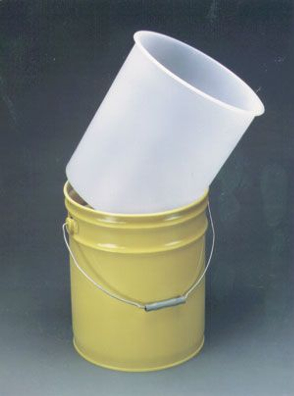 3.5 GALLON PLASTIC PAIL LINER - 15 MIL LDPE