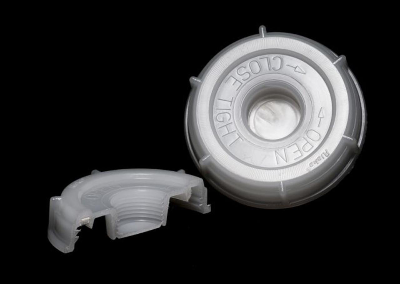 INDUSTRIAL PLASTIC SCREW CAP WITH REDUCER - 70MM