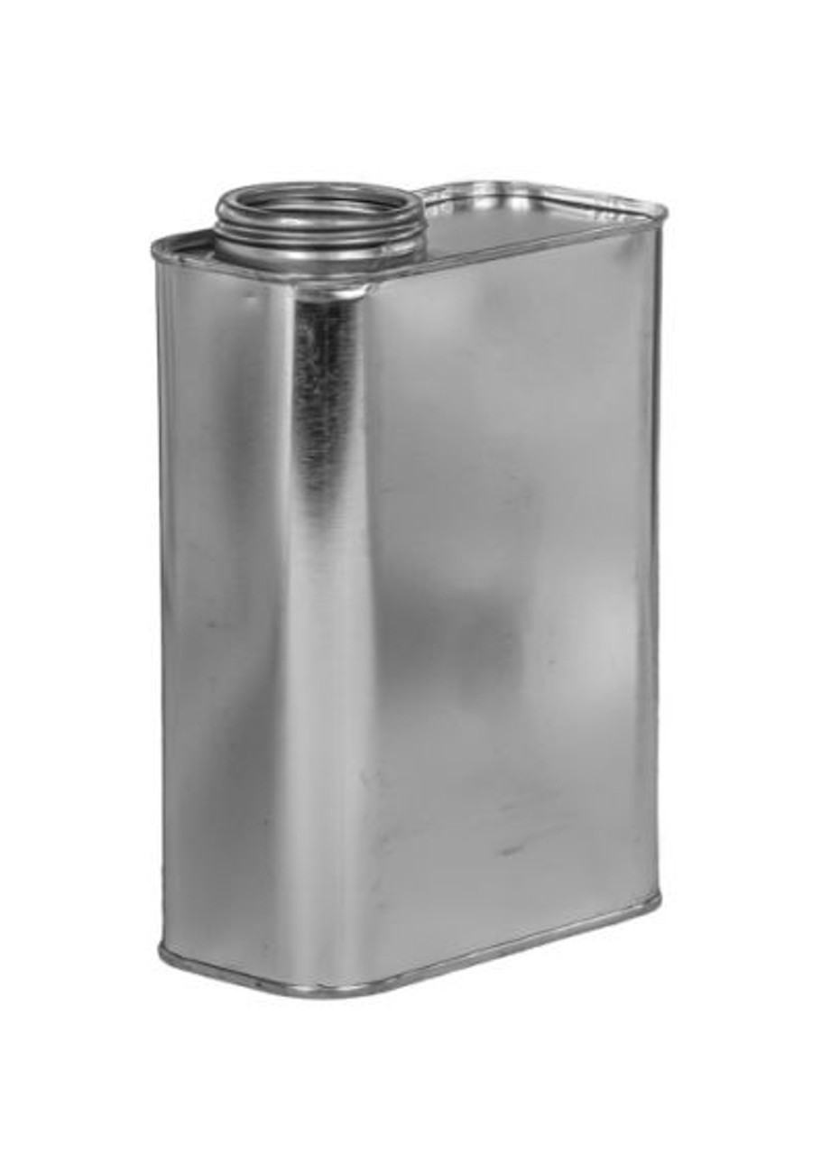 1 QUART F-STYLE OBLONG METAL CAN