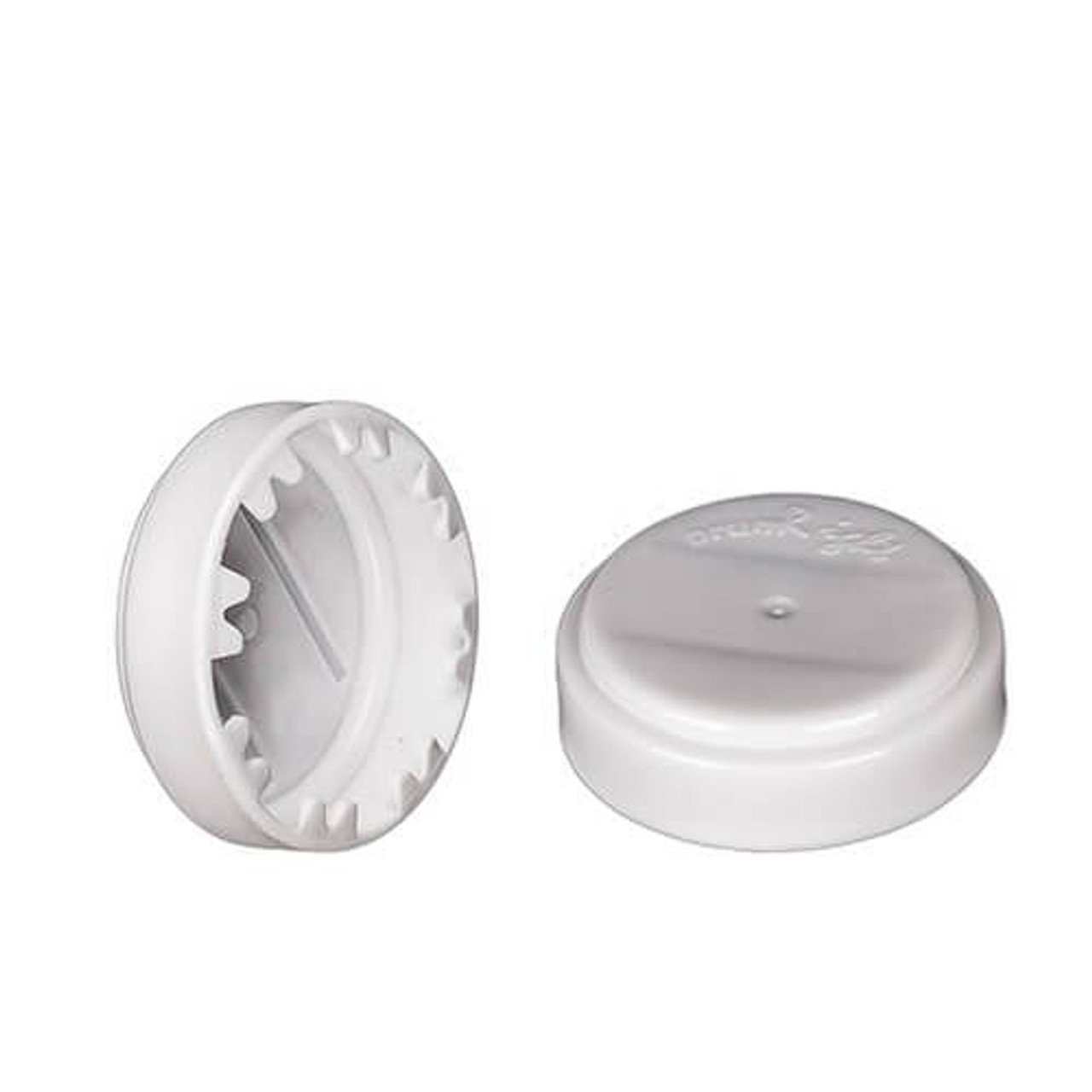 3/4 INCH ROUND HEAD PLASTIC CAPSEAL SNAP ON