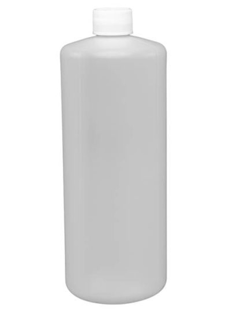 32 OZ PLASTIC CYLINDER BOTTLE WITH CAP