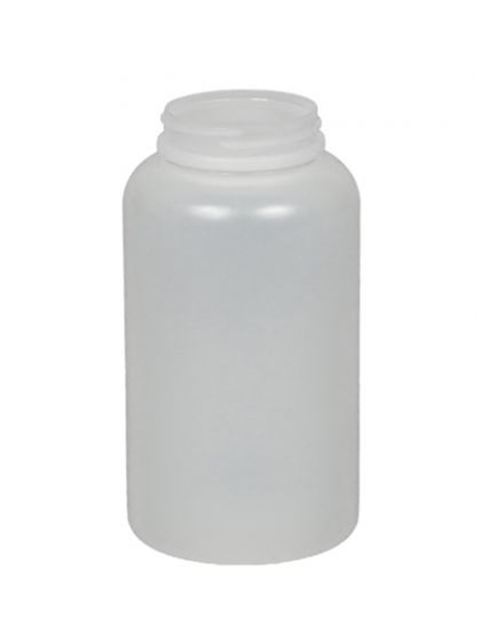 16 OZ NATURAL HDPE WIDE MOUTH BOTTLE