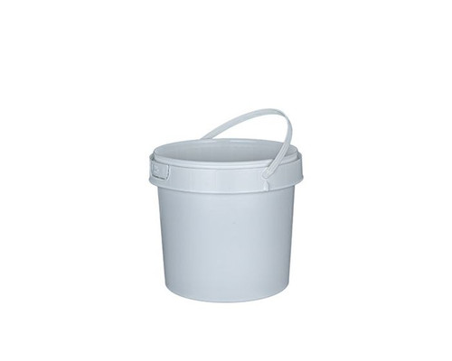 1 GALLON ROUND PLASTIC CONTAINER - HANDLE - IPL COMMERCIAL SERIES