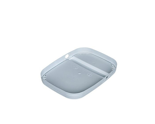1 GALLON TALL EZ STOR® PLASTIC CONTAINER HINGED LID