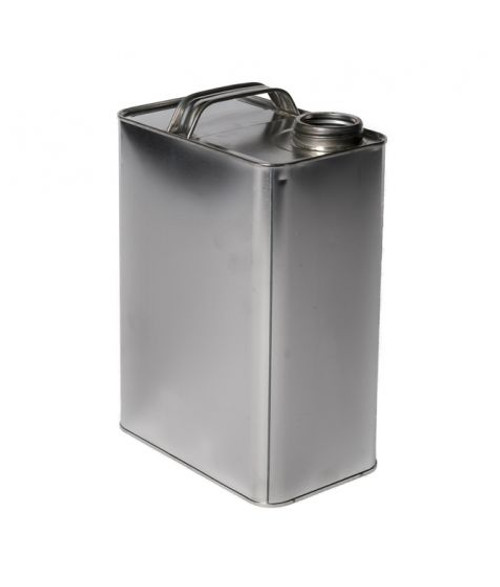 1 GALLON F-STYLE OBLONG METAL CAN WITH 1 1/4 INCH ALPHA OPENING