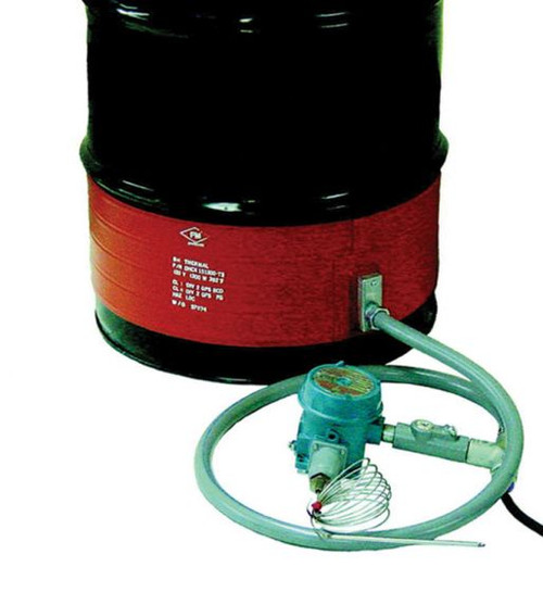 HAZARDOUS AREA DRUM HEATERS - T4A RATING CLASS I DIVISION II