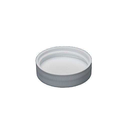 WHITE POLYPROPYLENE SCREW CAPS - 38 MM