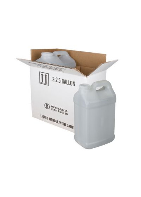10 LITER NATURAL HDPE F-STYLE BOTTLES WITH SHIPPING BOX