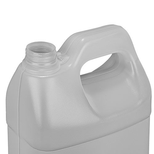 1 GALLON F-STYLE NATURAL HDPE BOTTLE WITH CAP