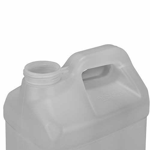 2.5 GALLON F-STYLE NATURAL HDPE BOTTLE WITH CAP