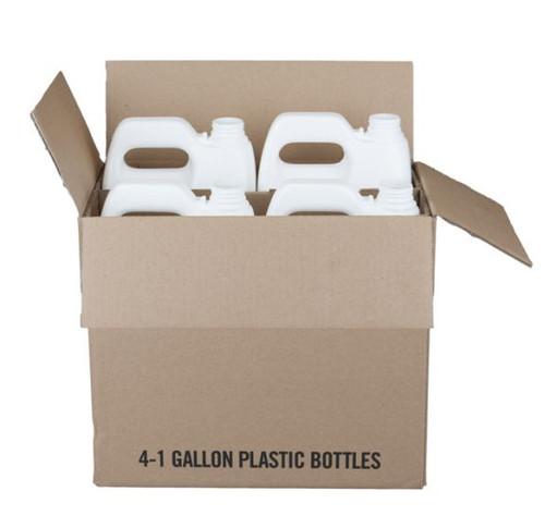 1 GALLON F-STYLE HDPE 4 BOTTLES WITH SHIPPING BOX