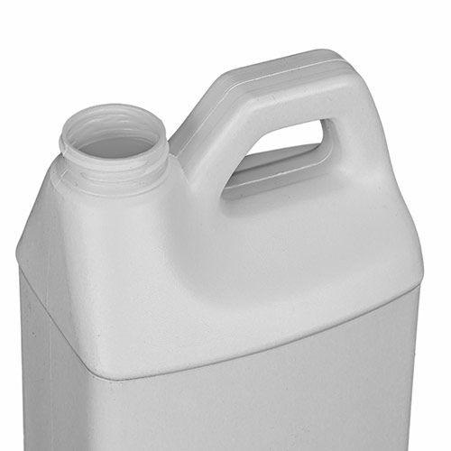 1/2 GALLON F-STYLE WHITE HDPE BOTTLE
