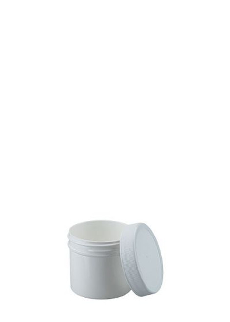 1 OZ WIDE MOUTH POLYPROPYLENE JAR WITH LID