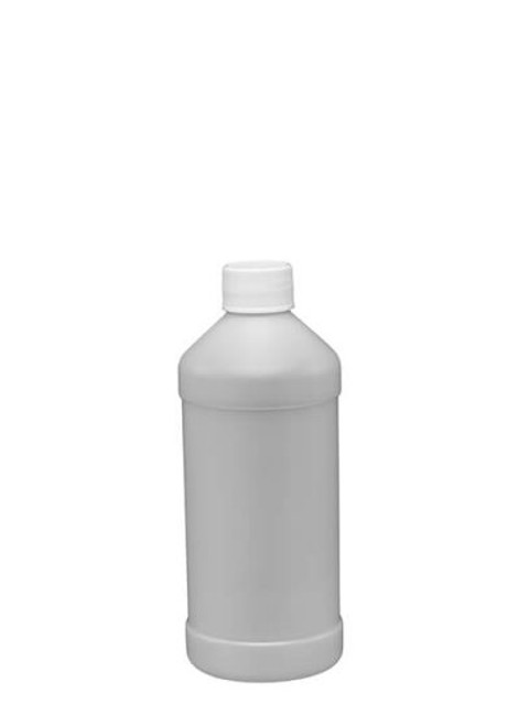 8 OZ HDPE MODERN ROUND BOTTLES WITH LID