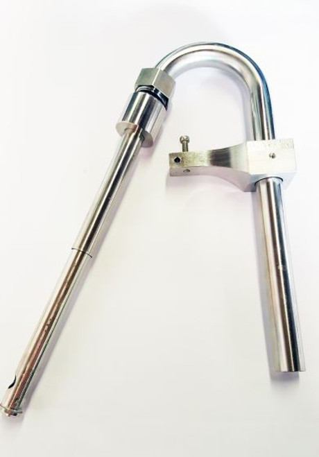 PINT SPOUT ASSEMBLY FOR AUTOMATIC DRUM SIPHON FILLER