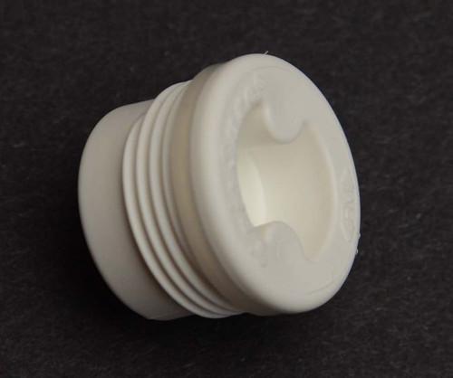 3/4 Inch Plastic Drum Plug, Irradiated Poly Gasket