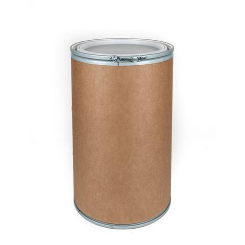 55 Gallon Fiber Drum, Open Head, UN Rated, Plastic Cover