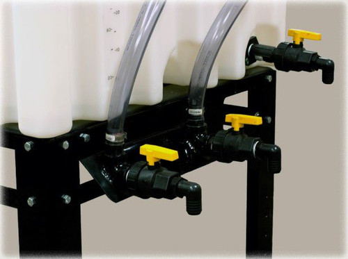 Plumbing Kit for Three Stackable Totes