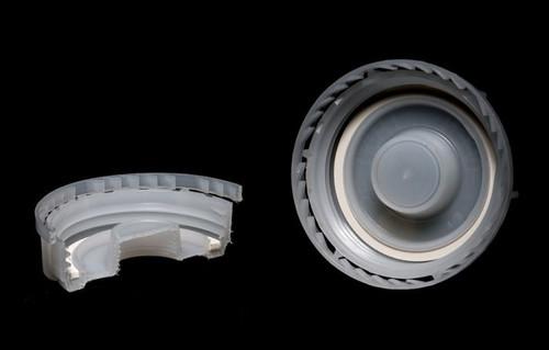 Industrial Tamper Evident Plastic Screw Cap, Reducer - 70mm