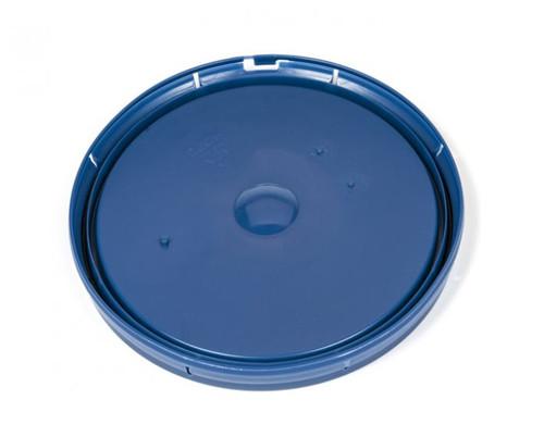 2 Gallon Tear Tab Plastic Pail Lid – Blue