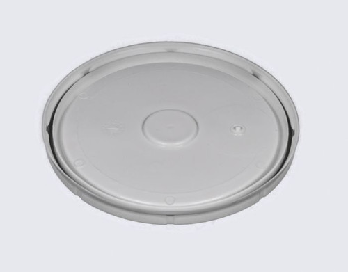 1 Gallon Plastic Pail Lid with Gasket - White