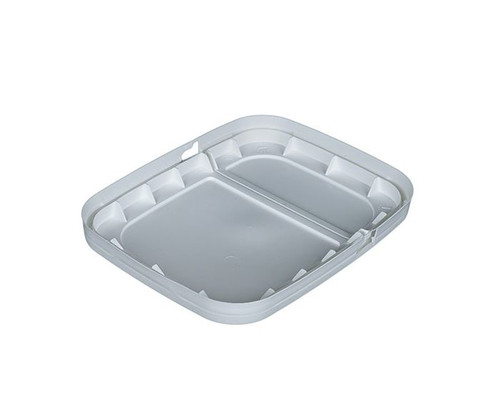 1 Gallon EZ Stor® Plastic Container Hinged Lid