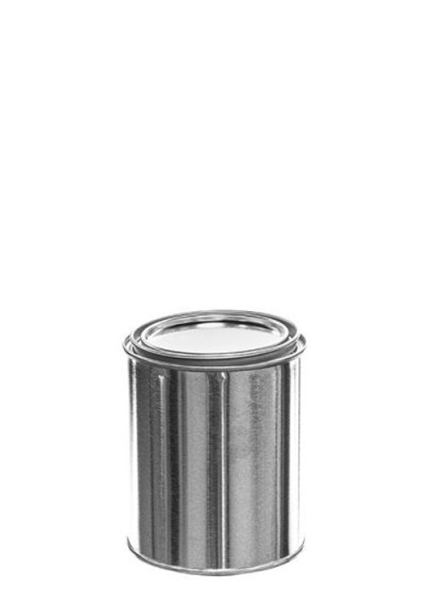 1 Pint Metal Paint Can & Lid - Unlined