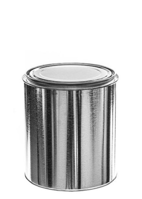 1/2 Gallon Metal Paint Can with Lid - Unlined