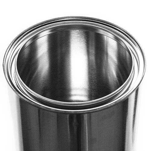 1/2 Gallon Unlined Metal Paint Can