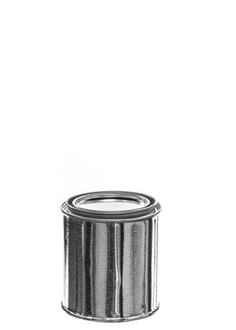 1/2 Pint Metal Paint Can with Lid - Unlined