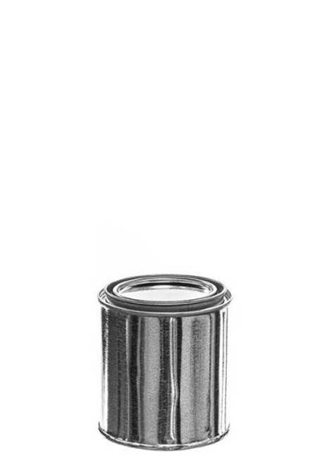 1/2 Pint Metal Paint Can with Lid - Epoxy Phenolic Lined