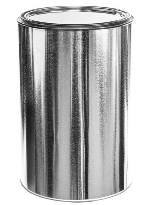 5 Quart Metal Paint Can with Lid - Unlined