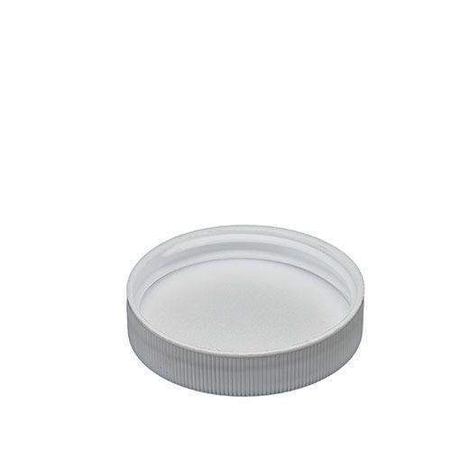 White Polypropylene Screw Caps - 43 mm