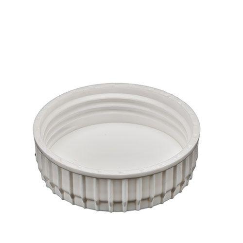 White Industrial HDPE Plastic Screw Cap - 63mm