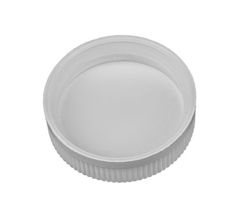 53mm Polypropylene Cap, Child Resistant - White