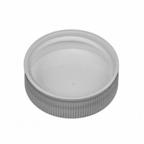 White Polypropylene Screw Caps - 33 mm