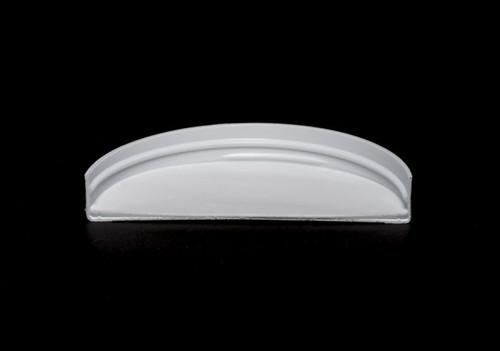 White Polypropylene Screw Caps - 100 mm
