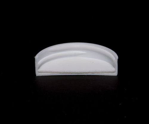 White Polypropylene Screw Caps - 45 mm