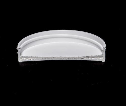 White Polypropylene Screw Caps - 63 mm