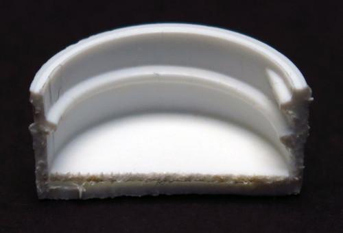 White Polypropylene Screw Cap with PE Foam Liner - 20mm
