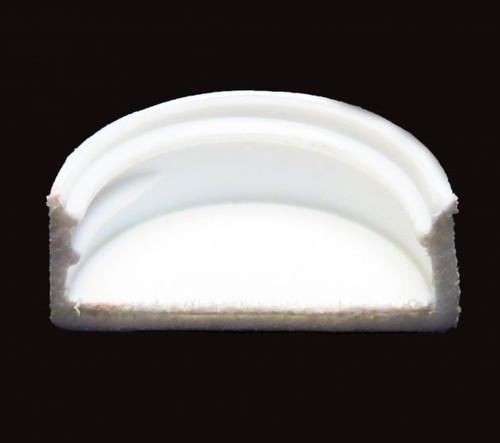 White Polypropylene Screw Cap - 24mm