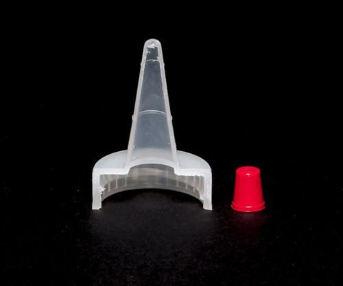 Dispensing Cap Yorker Spout Red Top - 28 mm