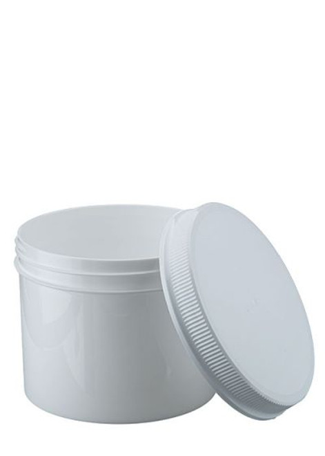 32 oz Wide Mouth Polypropylene Jar with Lid
