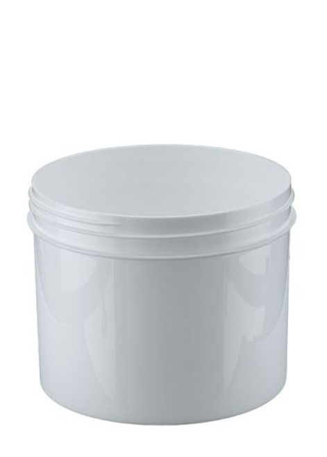 32 oz Wide Mouth Polypropylene Jar - White