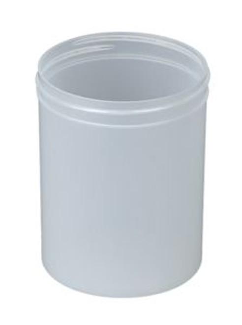 8 oz Polypropylene Straight Sided Jar