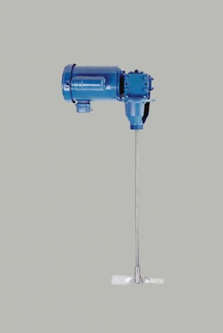 Bulk Container Mixer - Low Profile With Screw-in Mount - 1/2 HP TEFC