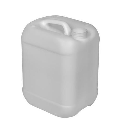 2.5 GALLON RECTANGULAR PLASTIC PAIL, CLOSED HEAD, 51 MM - NATURAL
