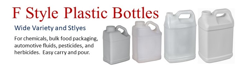 Wide Variety of F Style Plastic Bottles