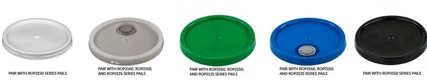 Wide Variety of Pail Lids, Covers & Caps