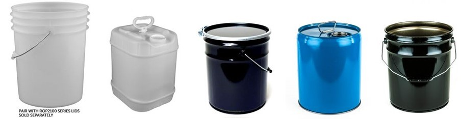Wide Variety of Pails & Buckets
